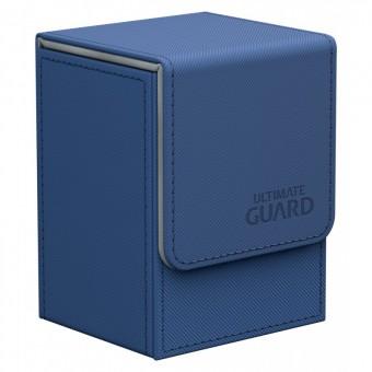 Коробочка Ultimate Guard XenoSkin на 80 карт (синяя)
