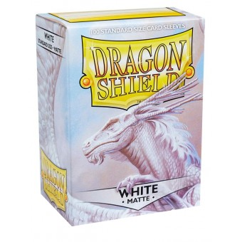 Протекторы Dragon Shield (66 х 91 мм., 100 шт.): white / кремовые матовые
