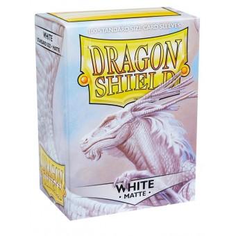 Протекторы Dragon Shield (66 х 91 мм., 100 шт.): White / Кремовые матовые