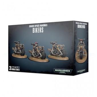 Chaos Space Marines Bikers / Космодесант Хаоса: Байкеры