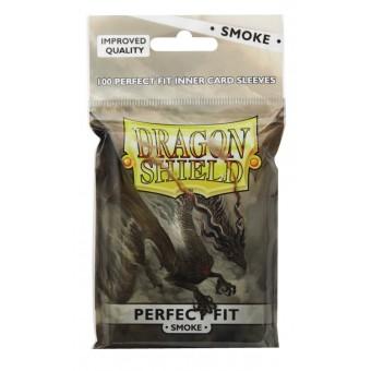 Протекторы Dragon Shield Smoke (63 x 88 мм., Perfect Fit, 100 шт.)