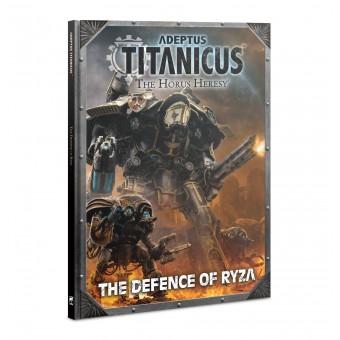 Книга Адептус Титаникус. Оборона Ризы / Adeptus Titanicus. Defence of Ryza (на английском языке)