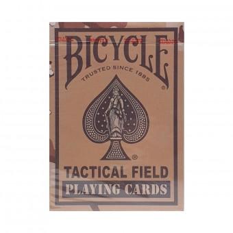 карты для покера Bicycle Tactical Field (коричневые)