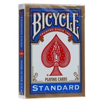 карты для покера Bicycle Standard (синие)