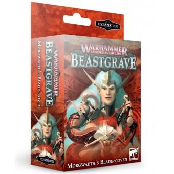 настольная игра Warhammer Underworlds Beastgrave. Дополнение: Morgweath`s Blade Coven / Клан Клинков Могвейт (на русском языке)
