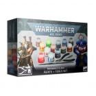 Warhammer 40000 Paints and Tools Set / Набор Красок и инструментов Warhammer 40000
