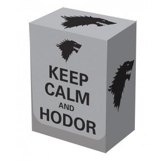 Коробочка Legion Hodor Deck Box (пластиковая, на 80+ карт)