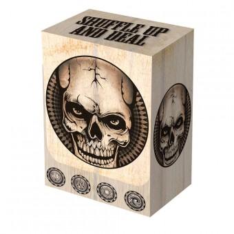 Коробочка Legion  Deadman's Hand Deck Box (пластиковая, на 80+ карт)