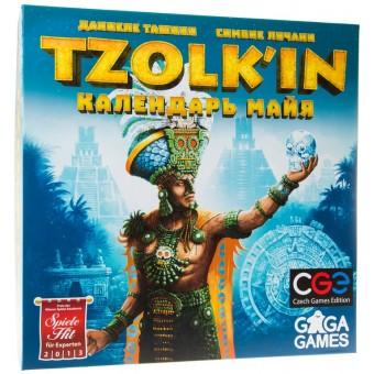 настольная игра Цолькин: Календарь Майя / Tzolk'in: Mayan Calendar