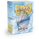 Протекторы Dragon Shield (66 х 91 мм., 100 шт.): небесно-голубые матовые