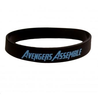 браслет силиконовый Мстители / Avengers Assemble (чёрный)