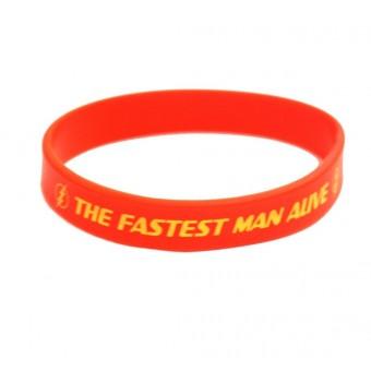 браслет силиконовый The Fastest Man Alive (красный)