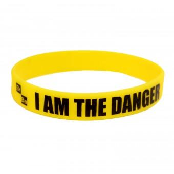 браслет силиконовый I am the Danger (жёлтый)