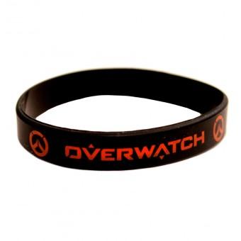 браслет силиконовый Овервотч / Overwatch (чёрный)