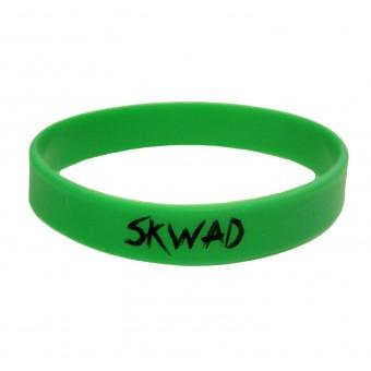 браслет силиконовый SKWAD (зелёный)