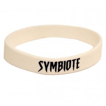 браслет силиконовый Симбиот / Symbiote (белый)