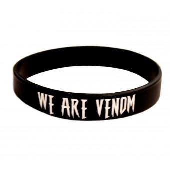 браслет силиконовый Веном / We Are Venom (чёрный)