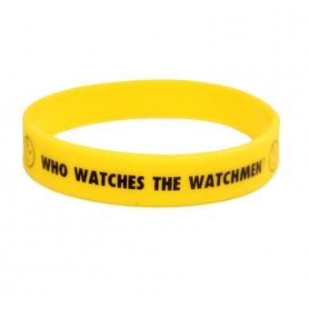 браслет силиконовый Хранители / Who watches the watchmen (жёлтый)