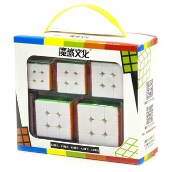 Набор головоломок Кубик MoYu Мини 3x3 (5 шт.)