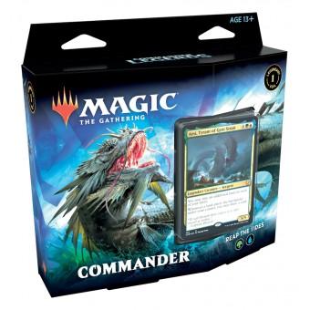 MTG. 2021. Commander Legends. Commander. Колода Reap the Tides