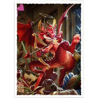 Протекторы Dragon Shield (66 х 91 мм., 100 шт.): Valentine Dragon 2020