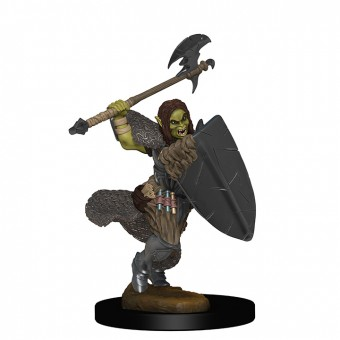 Миниатюры для Pathfinder Deep Cuts: Half Orc Female Barbarian