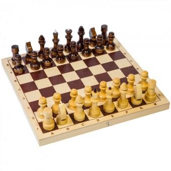 настольная игра Шахматы Кировские, малые (дерево, лакированные, 29х29х2,5 см.)
