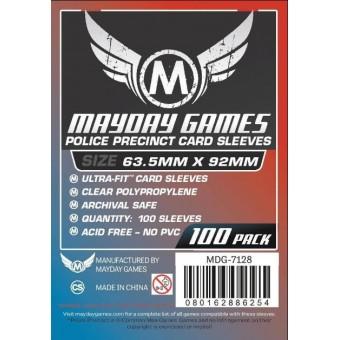 Протекторы MayDay: Прозрачные (Ultra Fit, 63,5 х 92 мм., 100 шт.)