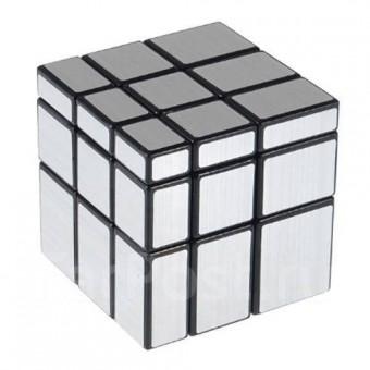 Головоломка Зеркальный Кубик 3x3 Серебряный Shengshou Mirror