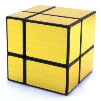 Головоломка Зеркальный Кубик 2x2 Золотой Shengshou Mirror