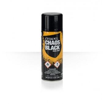Грунтовка Citadel Chaos black (чёрная)