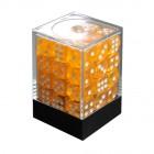 Набор кубиков из 36 штук D6 Прозрачный Золотой