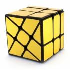 Головоломка Кубик Зеркальный Золотой MoYu MoFangJiaoShi WindMill Mirror