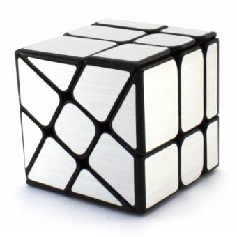 Головоломка Кубик Зеркальный Серебряный MoYu MoFangJiaoShi WindMill Mirror