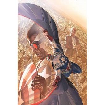 Постер All-New Captain America #1 By Alex Ross (60 см. х 90 см.)