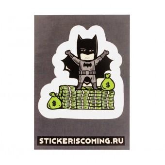 стикер Бэтмен (5.5 x 7.5 см.)