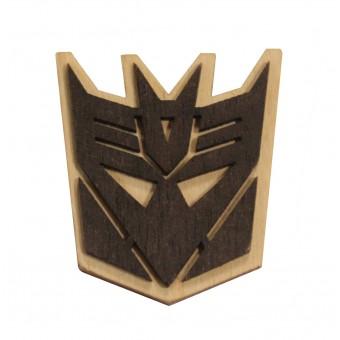 Значок деревянный Дисиптикон