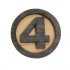 Значок деревянный Фантастическая Четверка