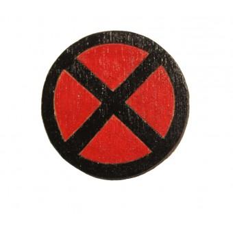 Значок деревянный Люди Икс