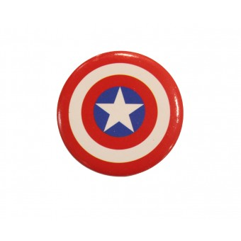 значок Марвел: Капитан Америка 30мм