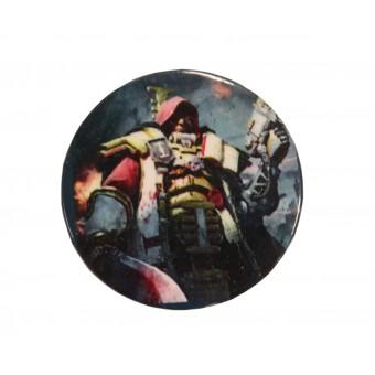 значок металлический Warhammer