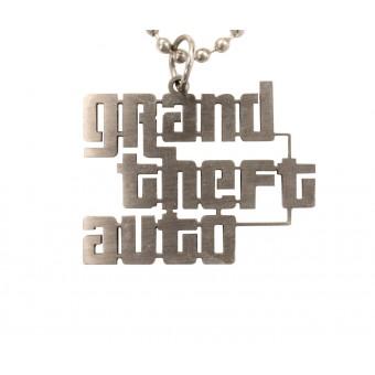кулон металлический GTA
