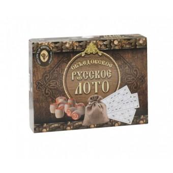 настольная игра Русское лото Объедовское в картонной упаковке