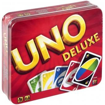 настольная игра Уно Делюкс / Uno Deluxe