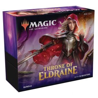 MTG. 2020. Престол Элдраина / Throne of Eldraine. Подарочный набор Bundle из 10 бустеров