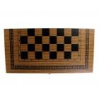настольная игра Шахматы, Шашки, Нарды (большие, 50х25х5 см.)