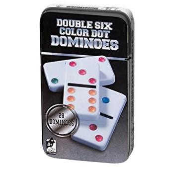настольная игра Домино в жестяной коробке