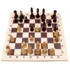 настольная игра Шахматы лакированные гроссмейстерские (большие, 43х21.5х6 см.)