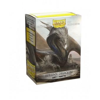 Протекторы Dragon Shield (66 х 91 мм., 100 шт.): матовые Sphinx Dragon