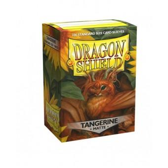 Протекторы Dragon Shield (66 х 91 мм., 100 шт.): Tangerine / Мандариновые матовые